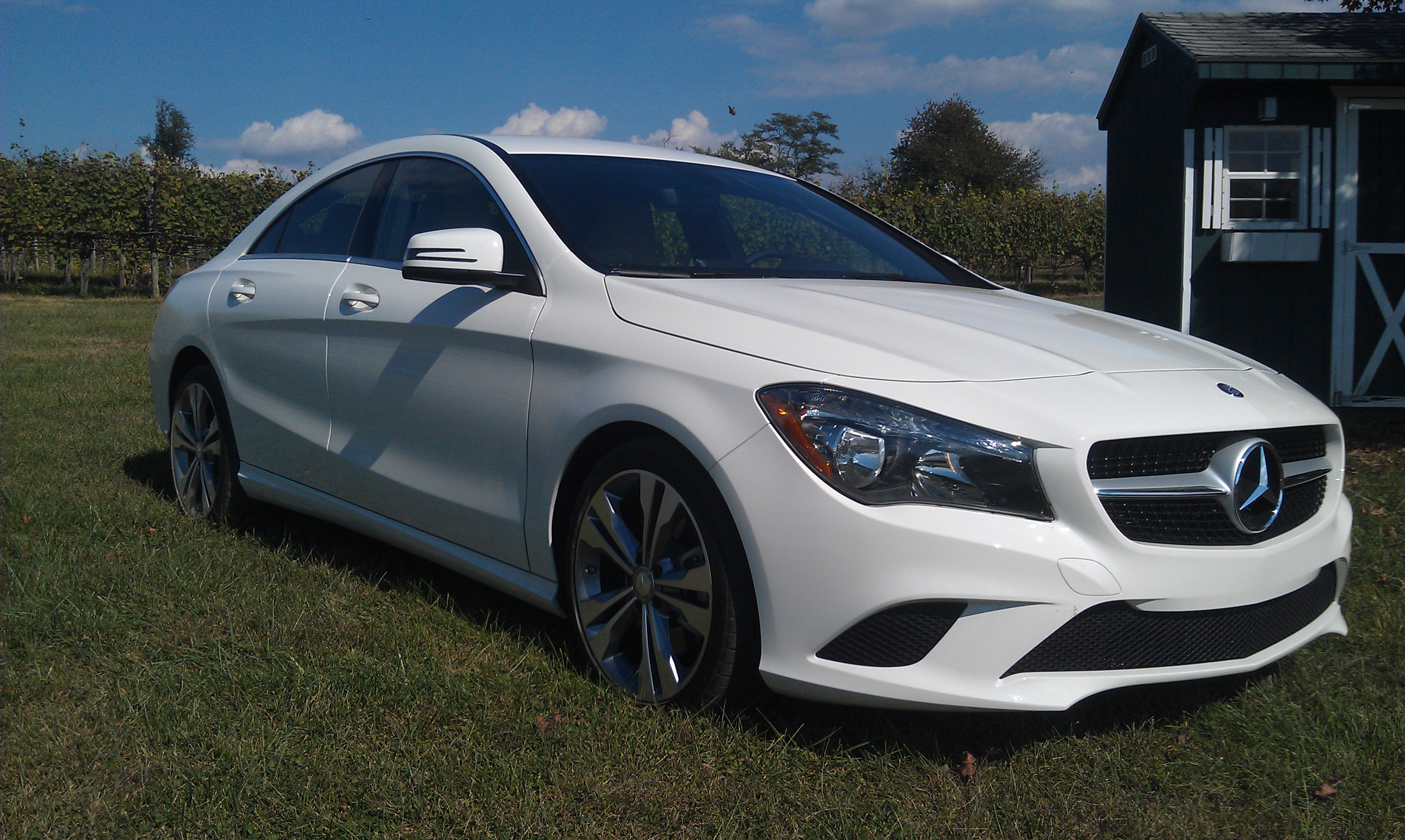 2014 mercedes benz cla 250 first look love at first for Mercedes benz cla review
