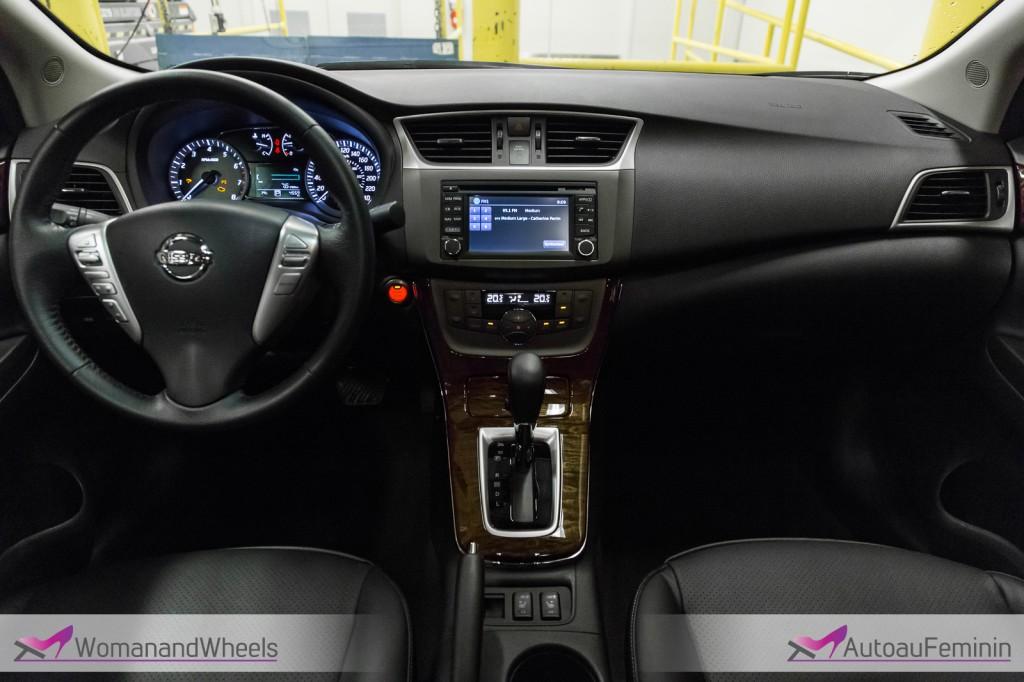 2014 Nissan Sentra SL Cockpit View