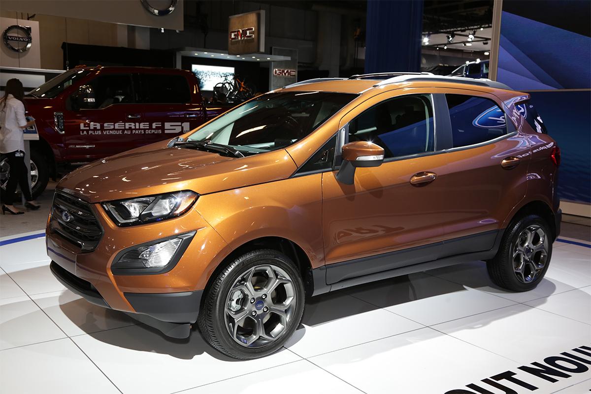 Salon De L Auto >> Ford Ecosport Salon De L Auto De Montreal Woman And Wheels