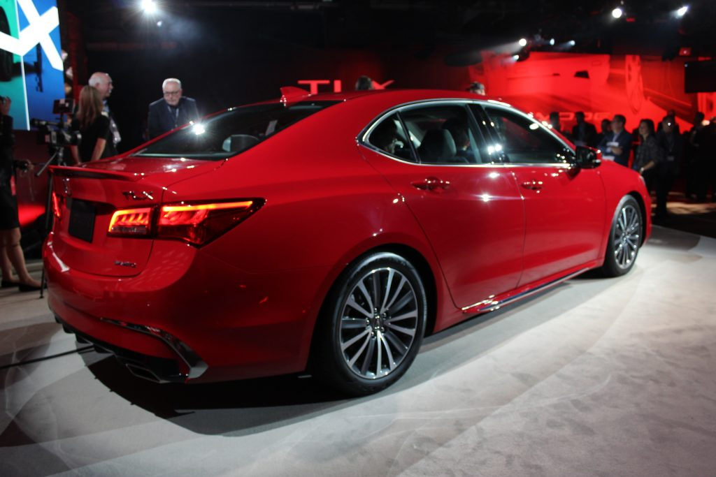 Simple The 2018 Acura TLX Is Unveiled Ahead Of The New York Auto