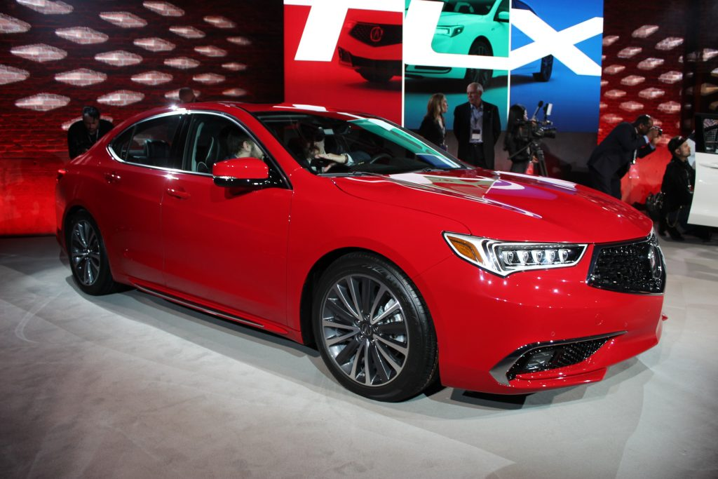 Awesome The 2018 Acura TLX Is Unveiled Ahead Of The New York Auto