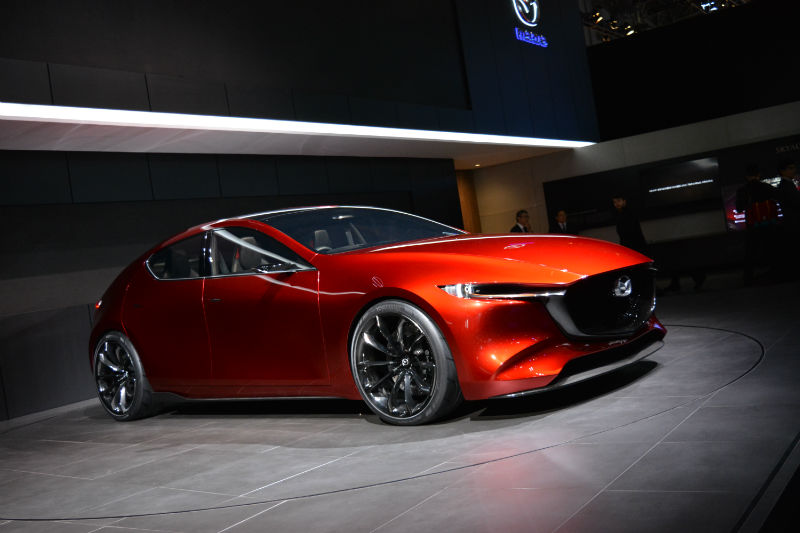 Mazda Kai concept -00 | Woman And Wheels