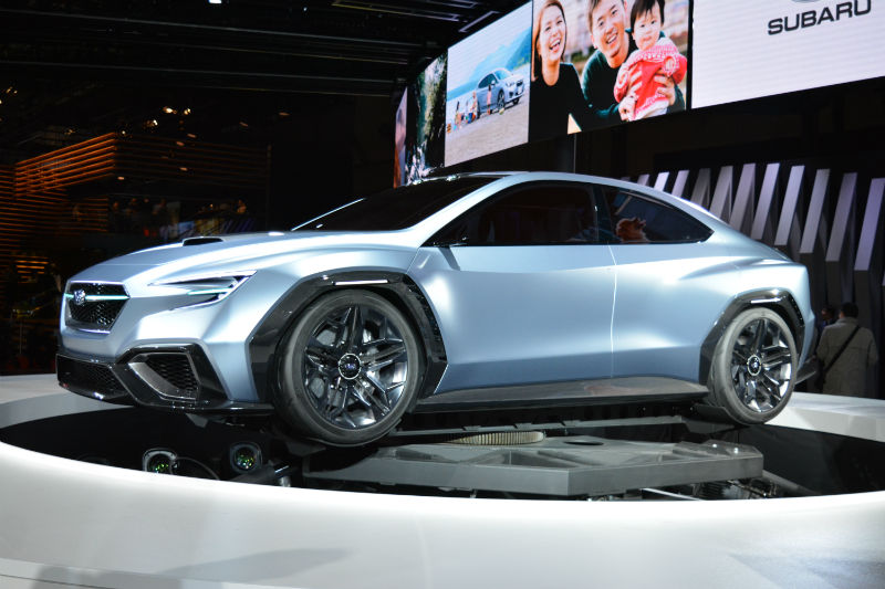2017 Tokyo Motor Show Subaru Teases With The Viziv