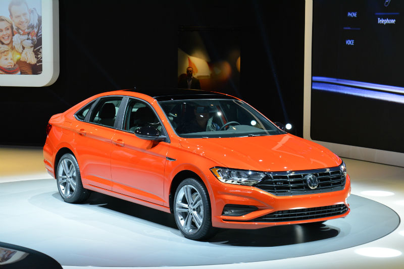 The 2019 Volkswagen Jetta At The 2018 North American International