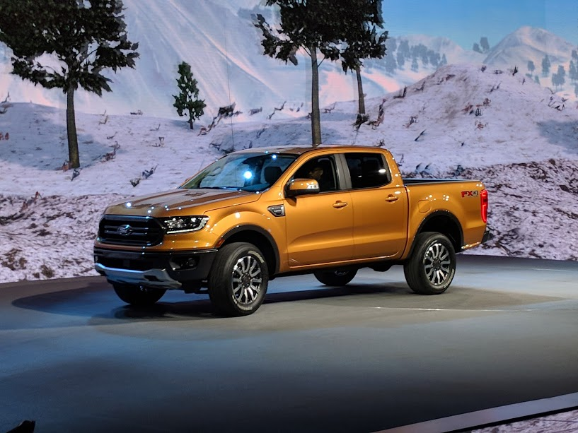 2019 ford ranger the new kid unveiled in detroit woman and wheels. Black Bedroom Furniture Sets. Home Design Ideas